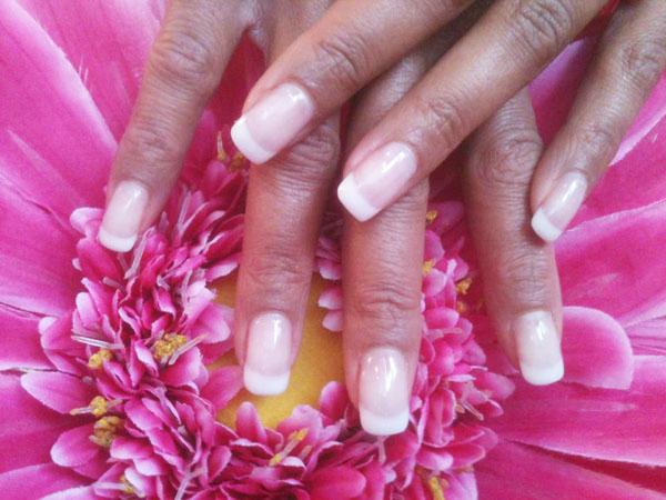 Natürlich schön: French Nails