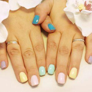Nailart Sweet Candy: Pastellfarben