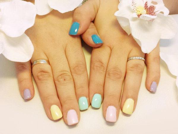 Sweet Candy: Pastellfarben