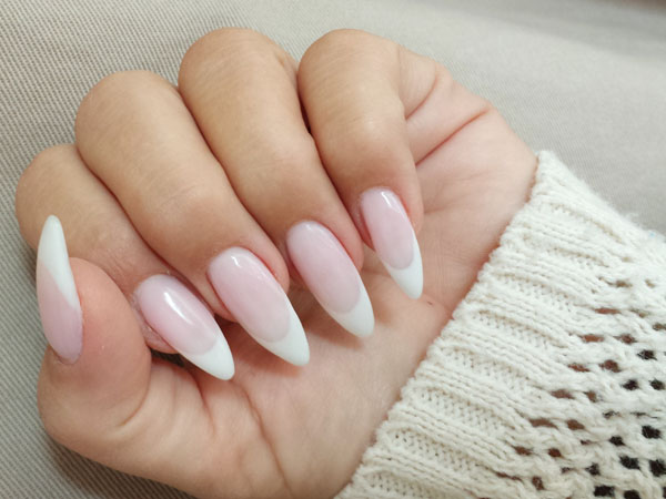 French Nails im XXL-Style