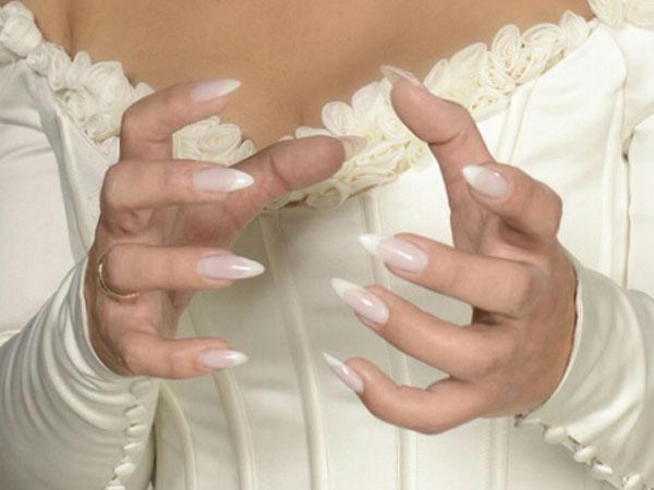 Brautnägel von Sabine Flockenhaus
